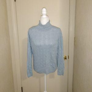 Hunt Club Turtleneck Blue Grey Sweater